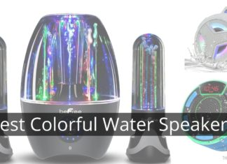 Best Colorful Water Speakers