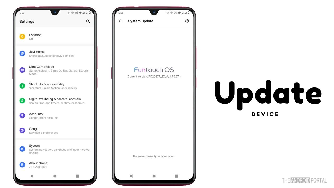 Update Android to the Latest Version