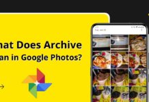 What Does Archive in Google Photos
